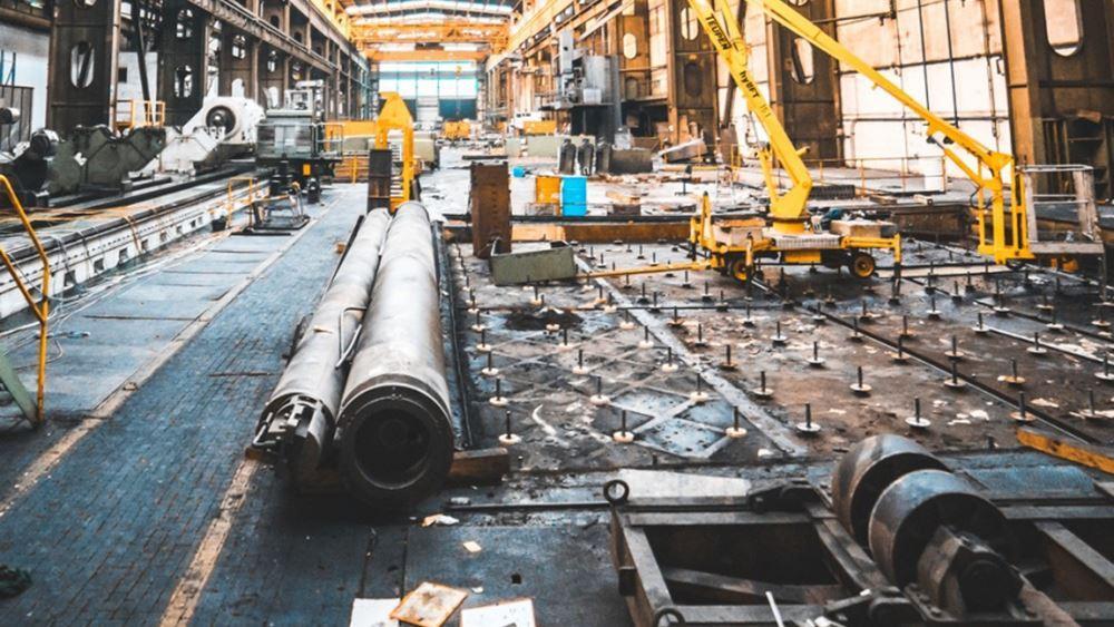 Ελλάδα: Πτώση κατά 7,5% της βιομηχανικής παραγωγής τον Μάιο