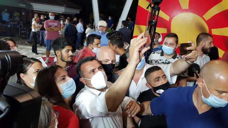 Βόρεια Μακεδονία: Έξι κόμματα μπαίνουν στη Βουλή. SDSM 46, VMRO-DPMNE 44, DUI 15, ΑΑ-Α 12, Αριστερά 2 και DPA 1