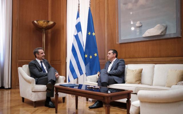 Ελλάδα: Ενημέρωση Μητσοτάκη για τις εξελίξεις στην Ανατολική Μεσόγειο σε Πρόεδρο και πολιτικούς αρχηγούς