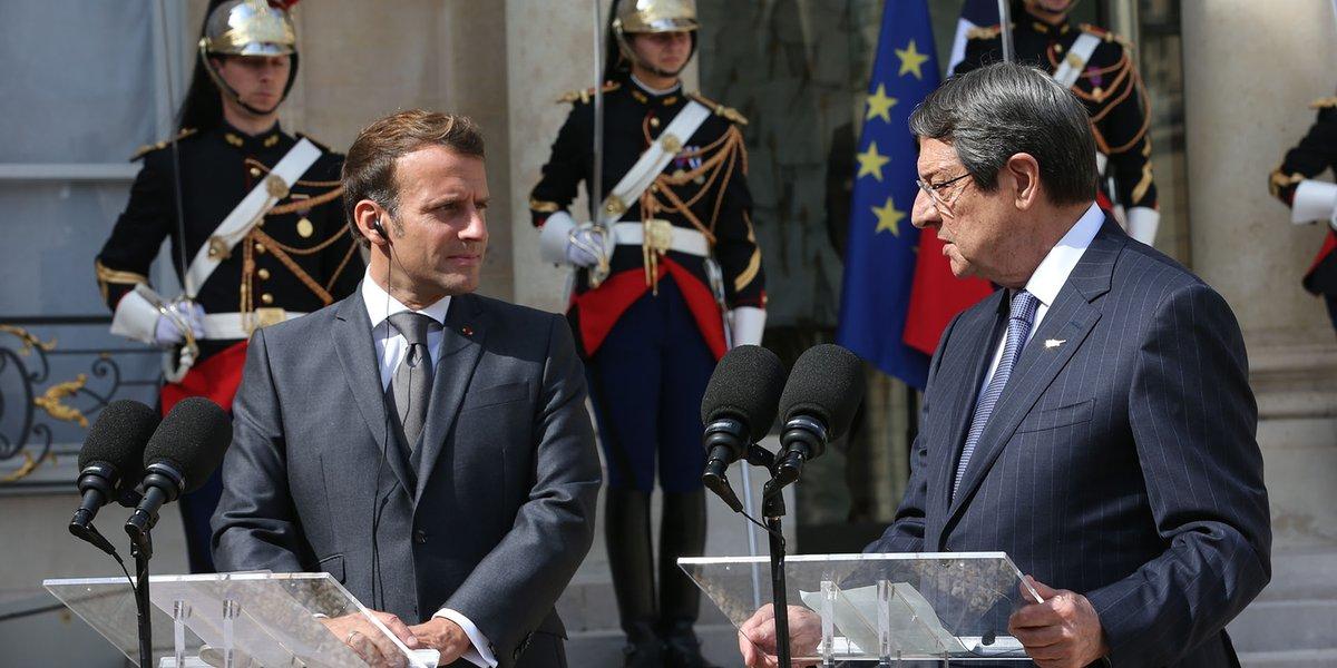 Κύπρος: Ιδιαίτερα παραγωγική η συνάντηση Αναστασιάδη-Macron σύμφωνα με τον Κυβερνητικό Εκπρόσωπο