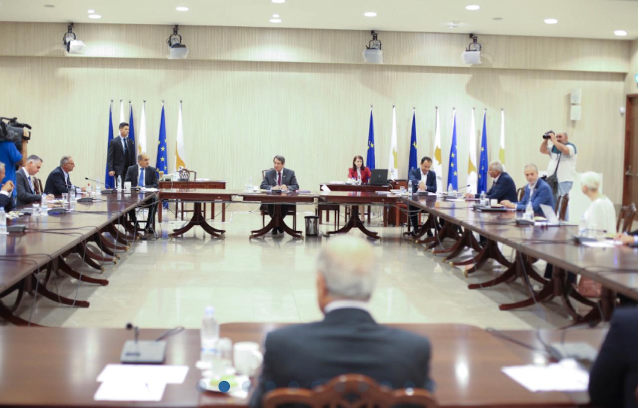 Κύπρος: Ενημέρωσε τους πολιτικούς αρχηγούς ο Αναστασιάδης
