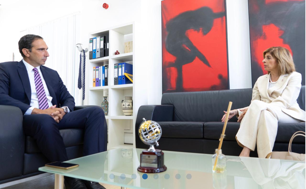 Κύπρος: Συνάντηση του Υπουργού Υγείας με την Ευρωπαία Επίτροπο