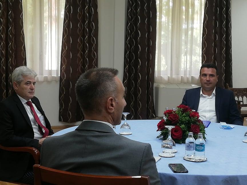 Βόρεια Μακεδονία: Συμφώνησαν Zaev- Ahmeti για τον κυβερνητικό συνασπισμό