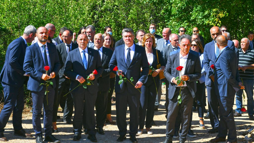 Κροατία: Τελέστηκε μνημόσυνο στο χωριό Grubori στη μνήμη των Σέρβων θυμάτων