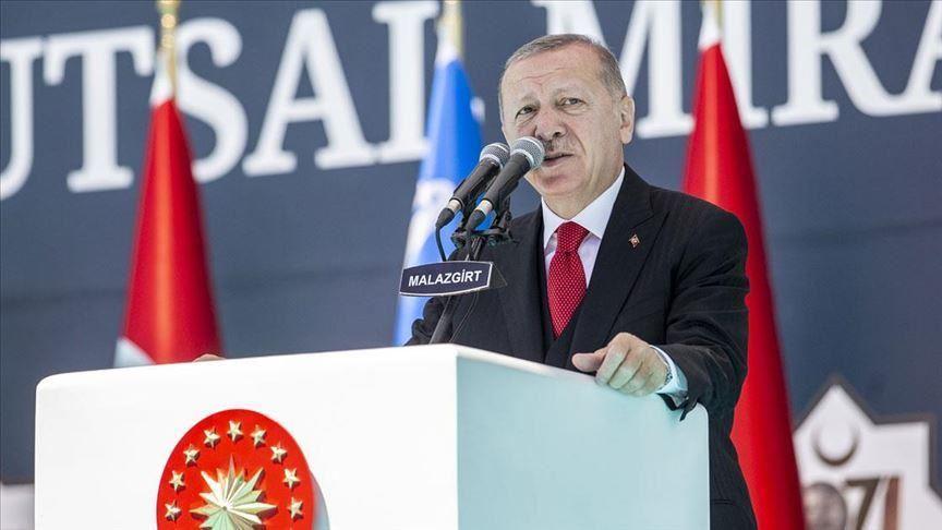Erdogan: «Η Τουρκία δεν έχει σχέδια για εδάφη, κυριαρχία και συμφέροντα άλλης χώρας»