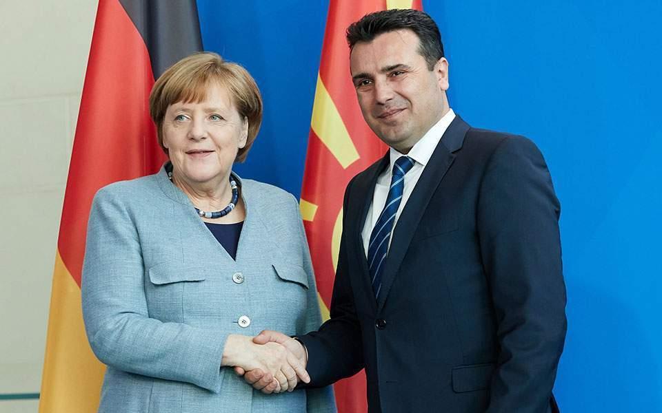 Βόρεια Μακεδονία: Επικοινωνία Zaev Merkel