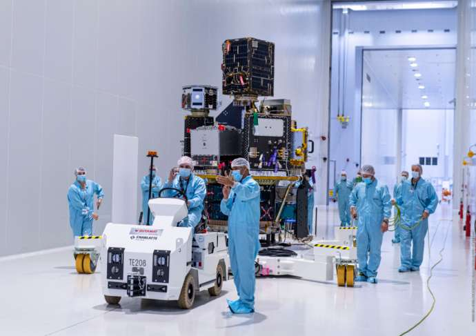 Σλοβενία: Έφτασαν στο διάστημα οι πρώτοι Σλοβενικοί δορυφόροι