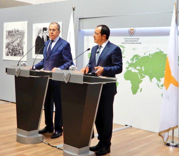 Κύπρος: Η συνθήκη εγγυήσεων δεν ανταποκρίνεται στις σύγχρονες συνθήκες, δήλωσε ο Lavrov
