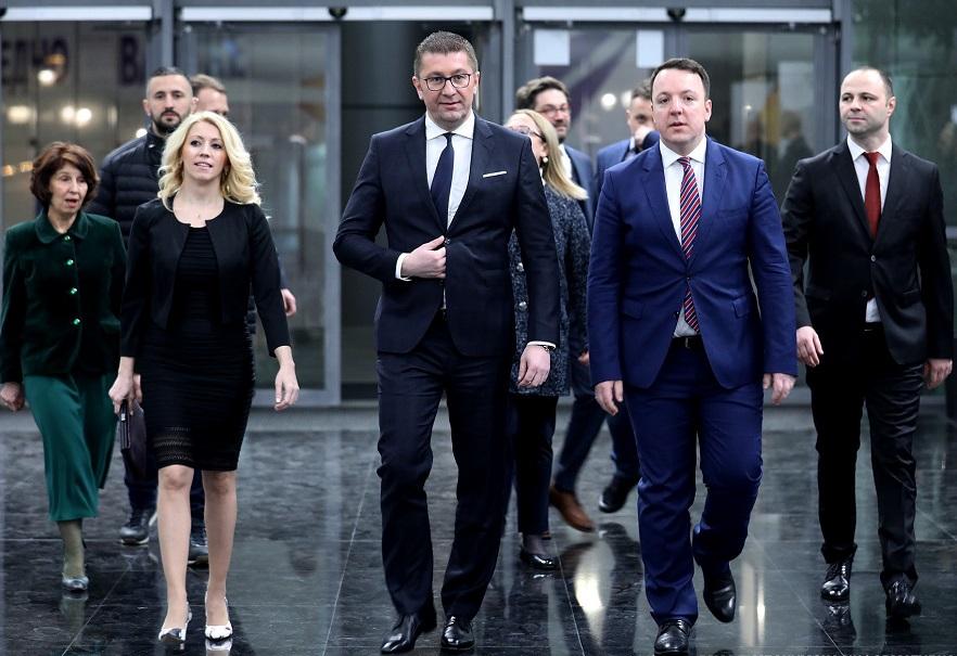 Βόρεια Μακεδονία: Αντί για συνέδριο η ηγεσία του VMRO-DPMNE αποφάσισε να βγει στους δρόμους