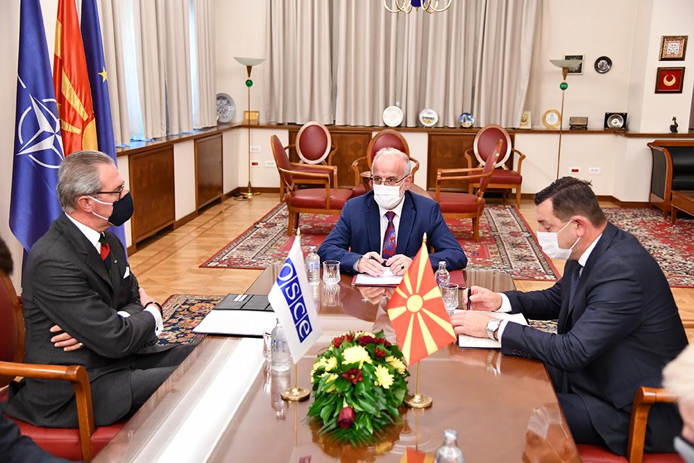 Βόρεια Μακεδονία: Συνάντηση Xhaferi με τον επικεφαλής του ΟΑΣΕ