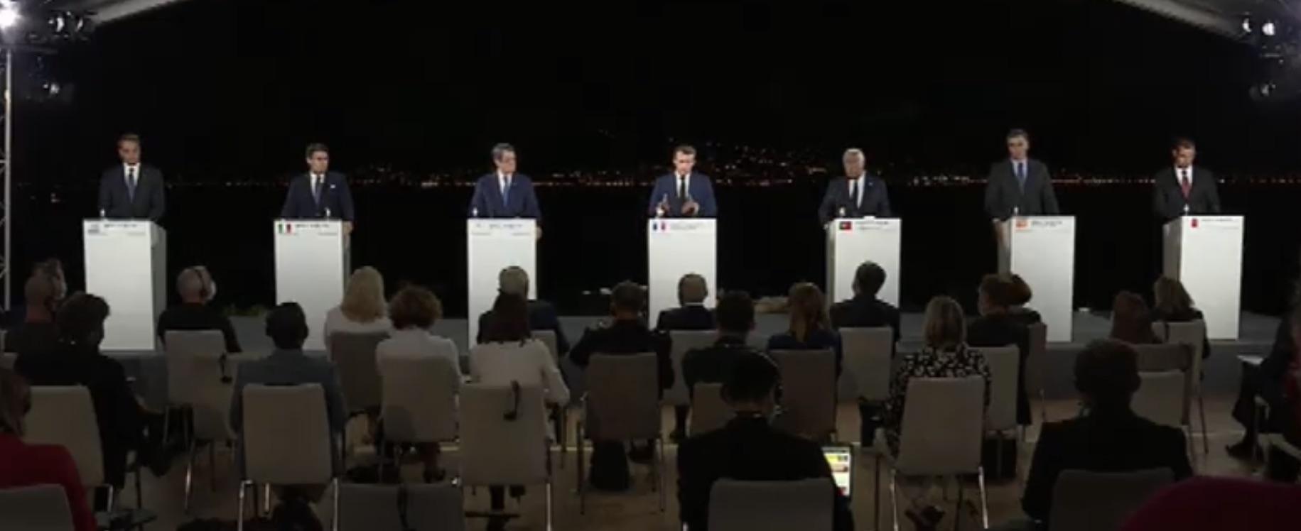 Κοινή Διακήρυξη μετά το πέρας της 7ης Συνόδου Κορυφής των Χωρών του Νότου της ΕΕ στο Ajaccio