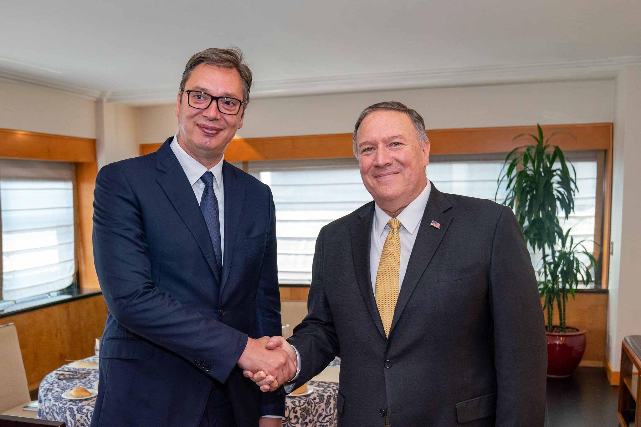Σερβία: Εύσημα Pompeo στον Vučić για την αναγνώριση της Χεζμπολάχ ως τρομοκρατικής οργάνωσης