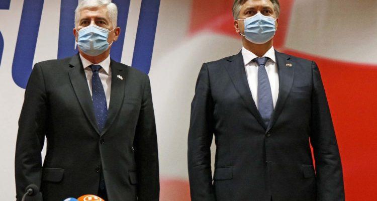 Β-Ε: Ο Plenković πραγματοποιεί επίσημη επίσκεψη στο Μόσταρ