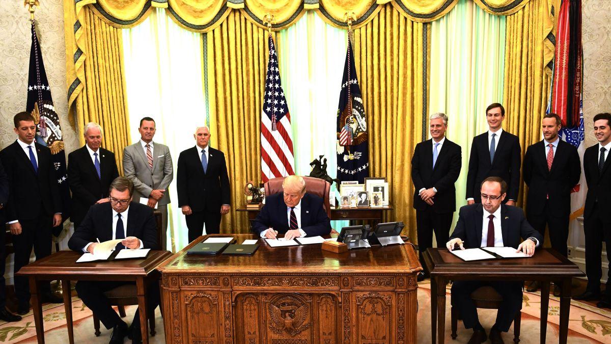 Οι ΗΠΑ αναμένουν από Κοσσυφοπέδιο και Σερβία να σεβαστούν τη συμφωνία της Ουάσιγκτον