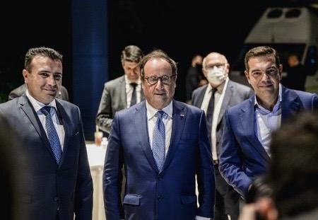 Βόρεια Μακεδονία: Δείπνο Zaev με Τσίπρα και Hollande