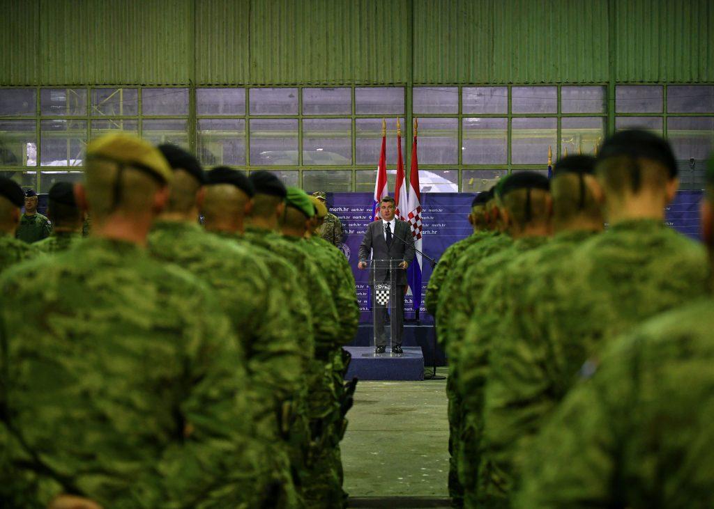 Η Κροατία ολοκλήρωσε τη στρατιωτική της παρουσία στο Αφγανιστάν