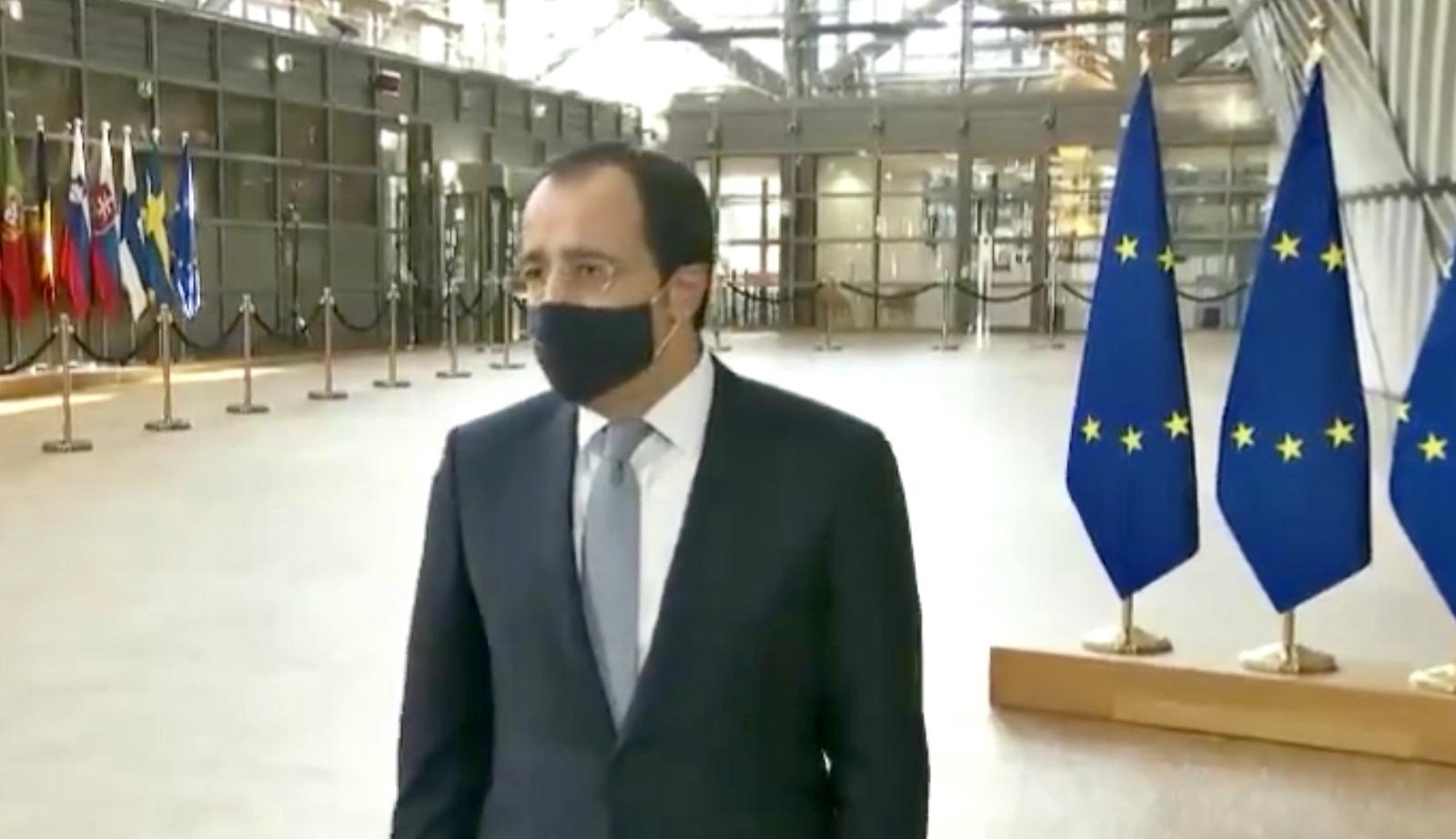 Χριστοδουλίδης: «Είμαι εδώ, έτοιμος, να εφαρμόσω την πολιτική απόφαση του Gymnich»