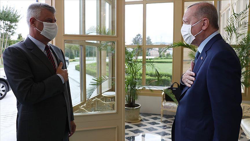 Κοσσυφοπέδιο: Συνάντηση πραγματοποιήθηκε μεταξύ Thaci και Erdogan στην Κωνσταντινούπολη