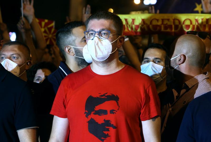 Βόρεια Μακεδονία: Το VMRO-DPMNE εκλέγει σήμερα νέα εκτελεστική επιτροπή
