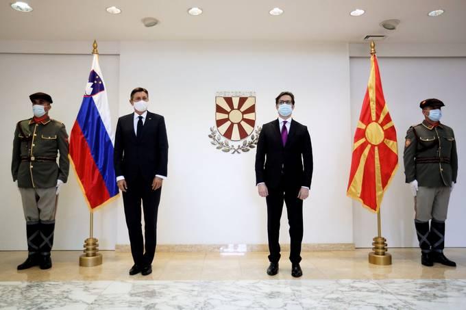 Η Σλοβενία υποστηρίζει τη Βόρεια Μακεδονία στο δρόμο της προς την ΕΕ, λέει ο Pahor