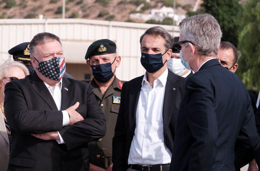 Pompeo: Πυλώνας σταθερότητας η Ελλάδα