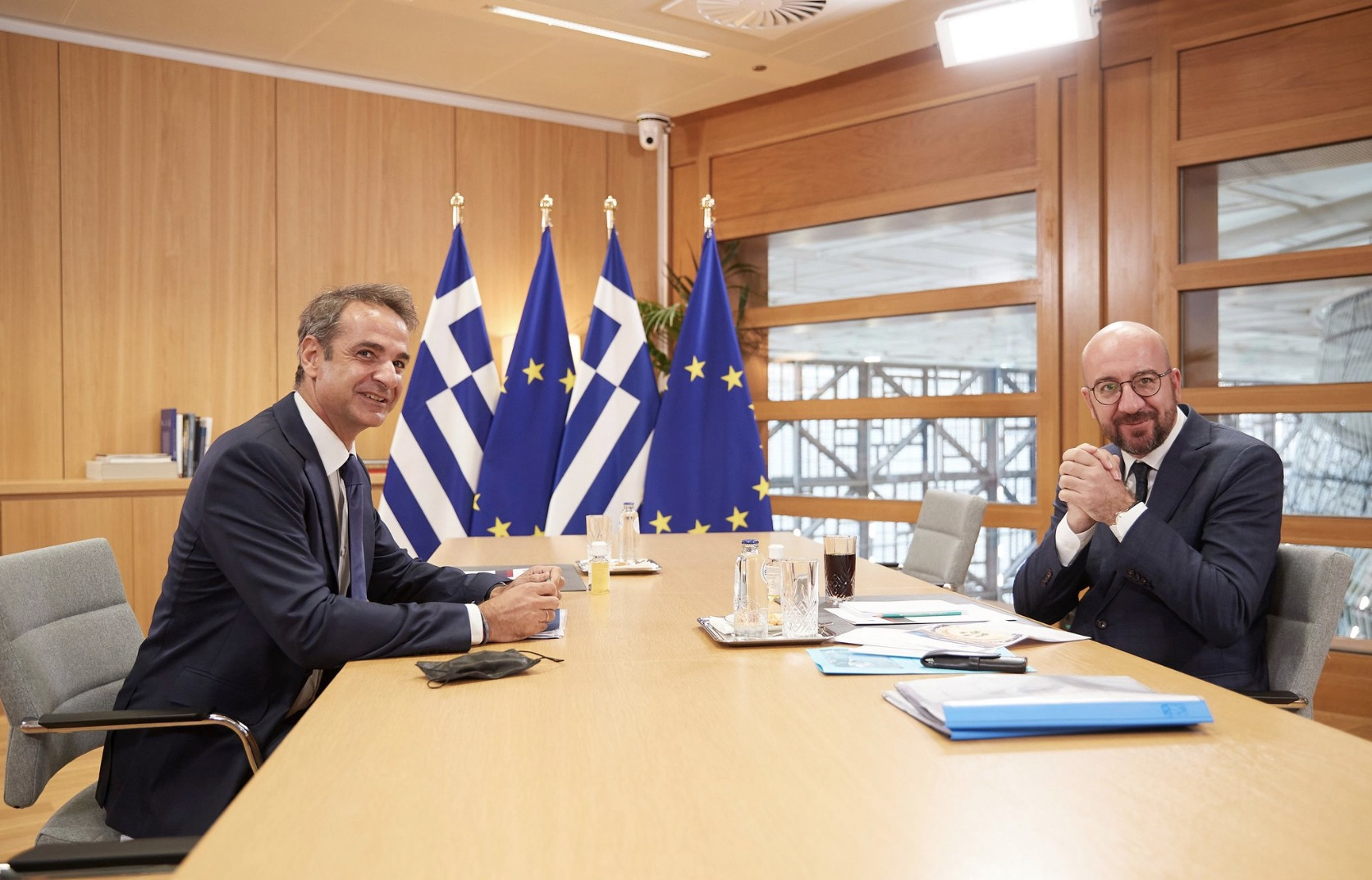Μητσοτάκης: Η Ελλάδα επιθυμεί σχέσεις καλής γειτονίας χωρίς εντάσεις στην περιοχή