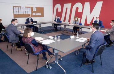 Βόρεια Μακεδονία: Δεν θα υπάρχει ανοχή για μη συμμόρφωση με τα μέτρα αντιμετώπισης της πανδημίας, δήλωνει το SDSM