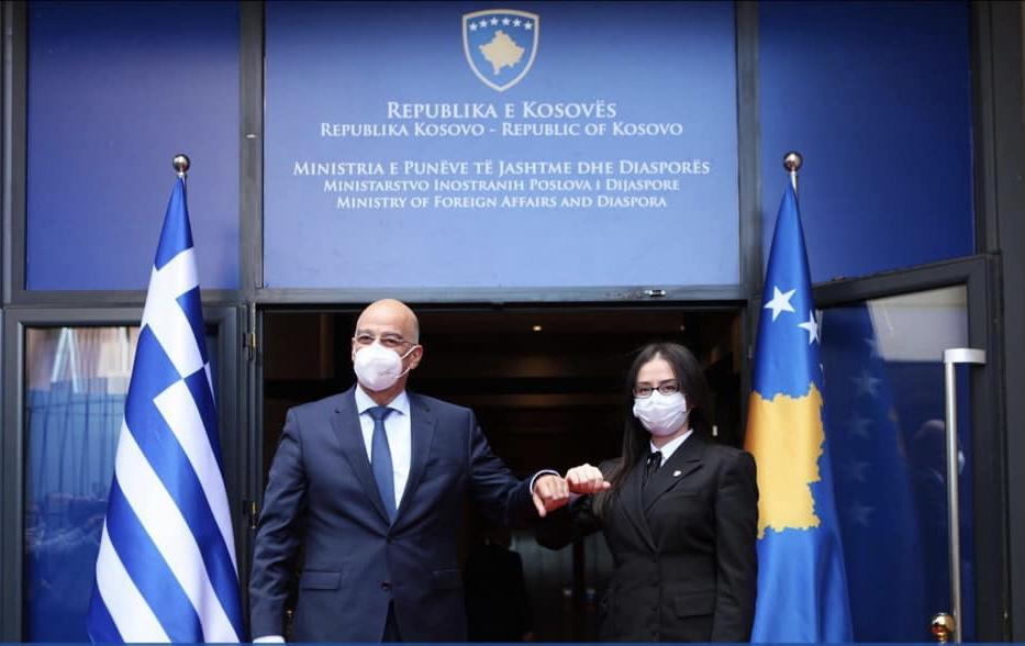 Κοσσυφοπέδιο: Την ενίσχυση των διμερών σχέσεων συζήτησαν Hoti, Haradinaj- Stublla και Δένδιας