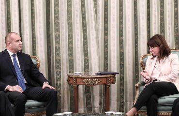 Radev: Βουλγαρία και Ελλάδα παράδειγμα για την ειρήνη, την καλή γειτονία και τη γόνιμη συνεργασία