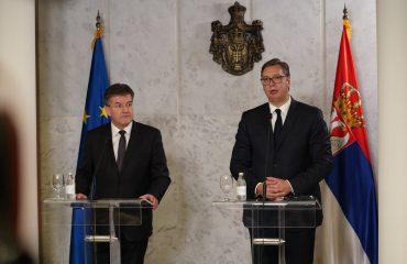 Σερβία: Όσα έχουν συμφωνηθεί πρέπει να εκπληρωθούν, συμφώνησαν Lajčák και Vučić στο Βελιγράδι