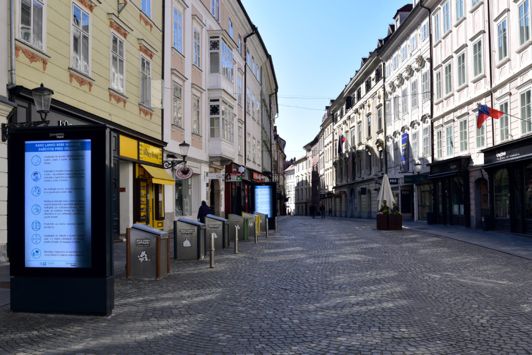 Σλοβενία: Η Κυβέρνηση κηρύσσει απαγόρευση κυκλοφορίας – Νομικοί αμφισβητούν τη συνταγματικότητά της