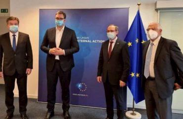 Συνάντηση Vucic-Kurti τις επόμενες μέρες στις Βρυξέλλες