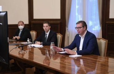 Lajcak προς Vučić και Hoti: Είστε στη δεξιά πλευρά της ιστορίας και η ιστορία θα το αναγνωρίσει