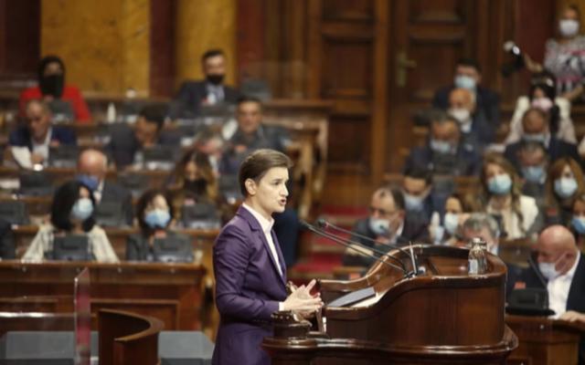 Σερβία: Ορκίστηκε η νέα κυβέρνηση της Brnabić