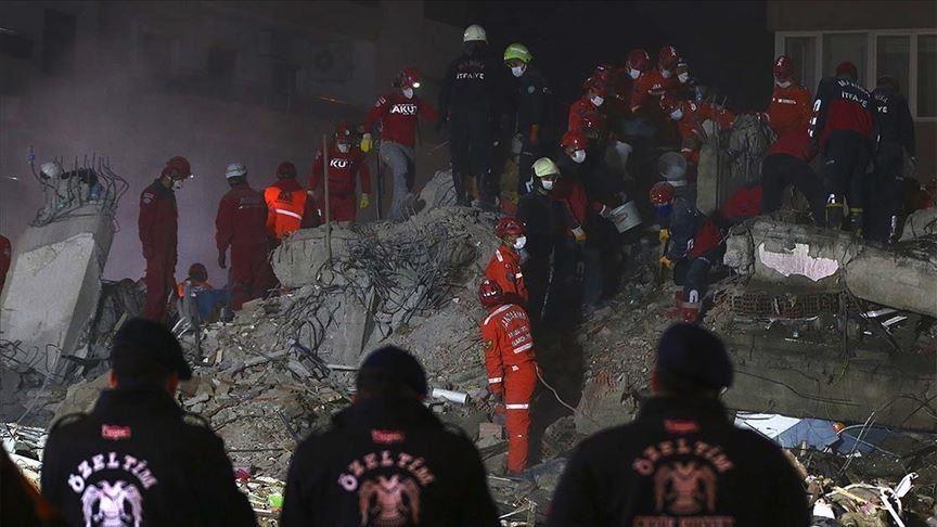 Τουρκία: Στους 102 ανήλθαν οι νεκροί από το σεισμό της Παρασκευής 30 Οκτωβρίου