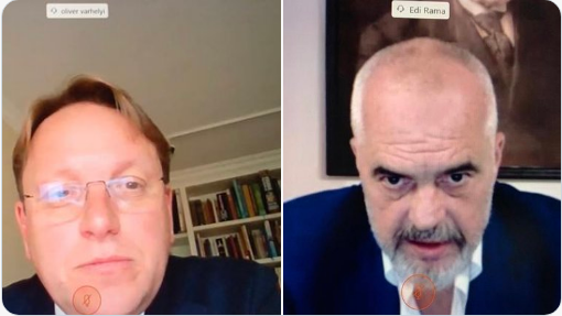 Αλβανία: Την ολοκλήρωση του πλαισίου των συνομιλιών για ένταξη της ΕΕ, συζήτησαν Rama και Varhelyi