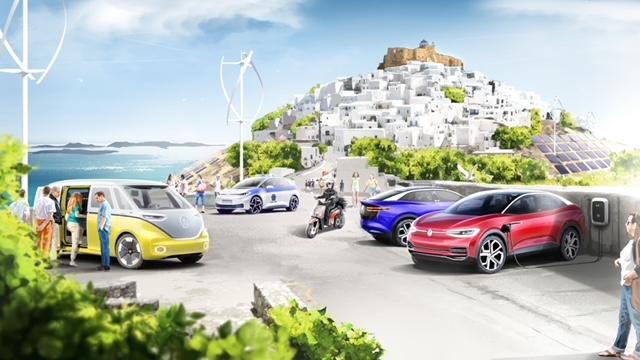 Ελλάδα: Αστυπάλαια έξυπνο και βιώσιμο νησί