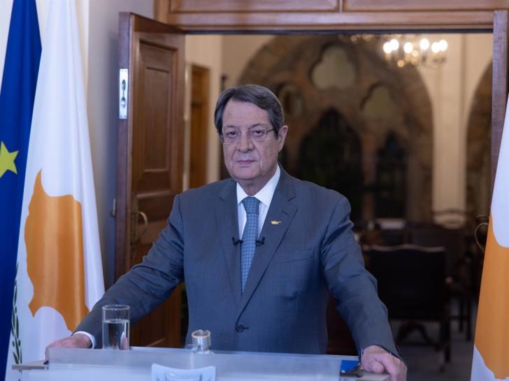 Κύπρος: Επιβεβαίωσε χτες η Τουρκία την αμετάθετη θέση της στο Κυπριακό, δήλωσε ο Αναστασιάδης