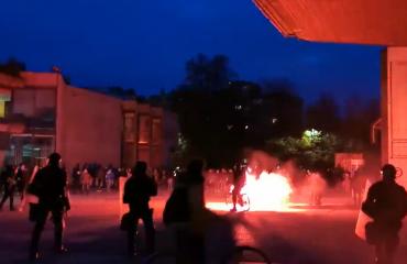Σλοβενία: Χρήση αύρας από την αστυνομία σε διαδήλωση ενάντια στα νέα μέτρα κατά του κορωνοϊού