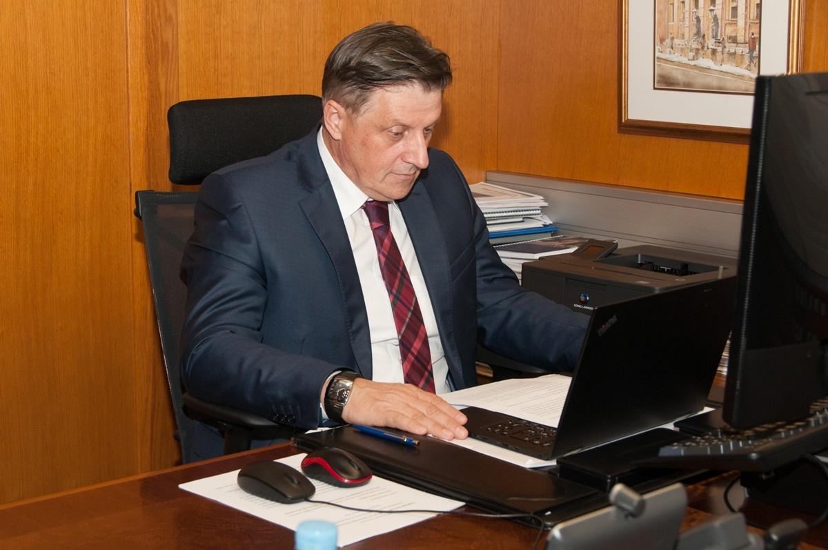Β-Ε: Ο διοικητής της Κεντρικής Τράπεζας συμμετείχε στην εικονική συνάντηση του Club of Governors