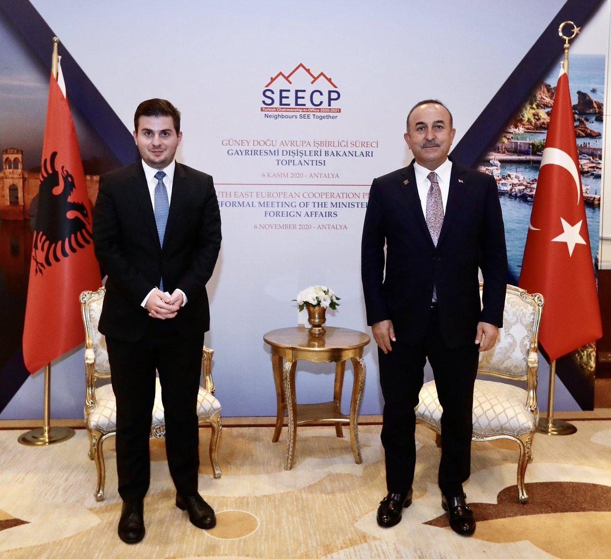 Αλβανία: Συνάντηση Cakaj-Çavuşoğlu