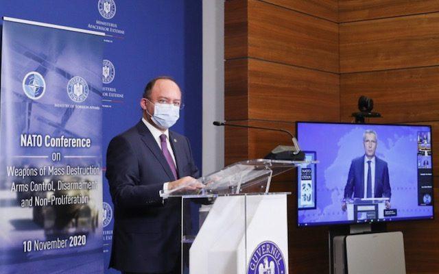 Ρουμανία: Aurescu και Stoltenberg συμπροήδρευσαν στην ετήσια διάσκεψη του ΝΑΤΟ για τον έλεγχο των όπλων