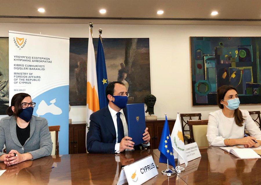 Κύπρος: Πραγματοποιήθηκε η πρώτη συνάντηση της κοινής Επιτροπής Συνεργασίας Κύπρου-ΗΑΕ