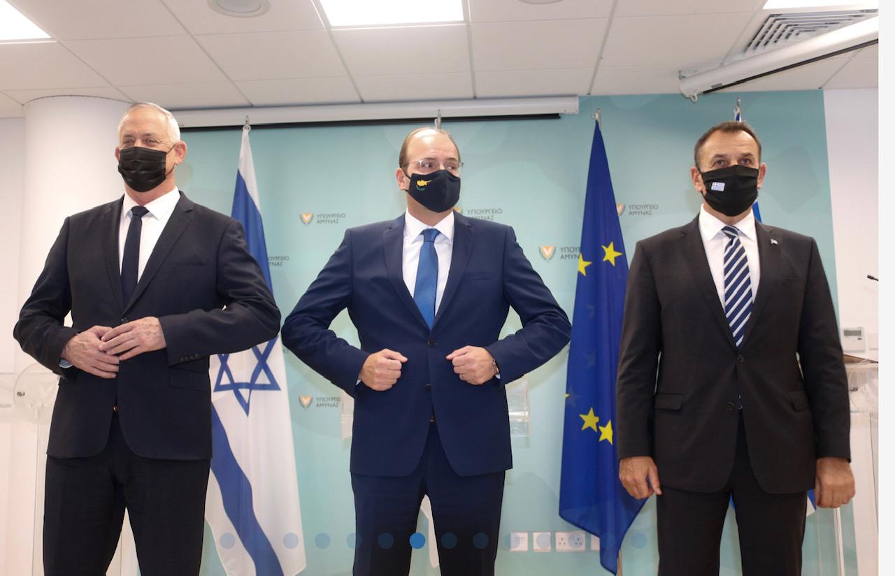 Κοινή δήλωση 3ης τριμερούς συνάντησης των Υπουργών Άμυνας Κύπρου, Ελλάδας, Ισραήλ