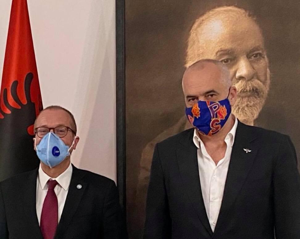 Αλβανία: Ο Rama δέχτηκε τον Διευθυντή του ΠΟΥ για την Ευρώπη