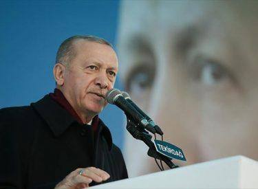 Erdogan: Η επίτευξη των στόχων του 2023 έχει καταστεί αναγκαία όσο ποτέ άλλοτε