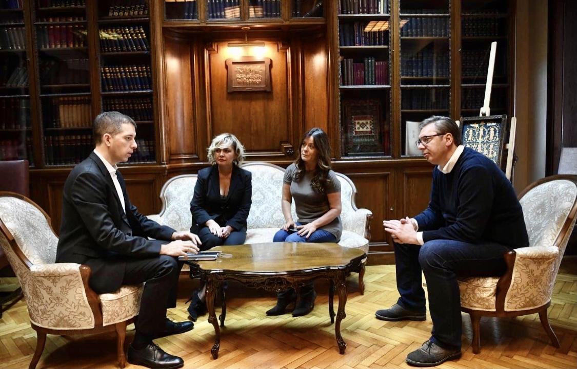 Vučić: Ο Đurić θα προστατεύσει επιτυχώς τα συμφέροντα της Σερβίας στις Ηνωμένες Πολιτείες
