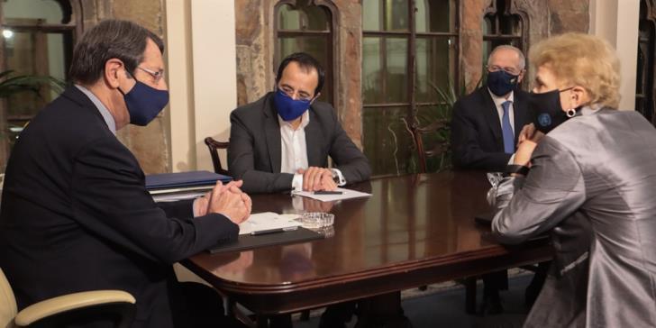 Κύπρος: Ολοκλήρωσε τις επαφές της η Ειδική απεσταλμένη του ΓΓ των ΗΕ Lute