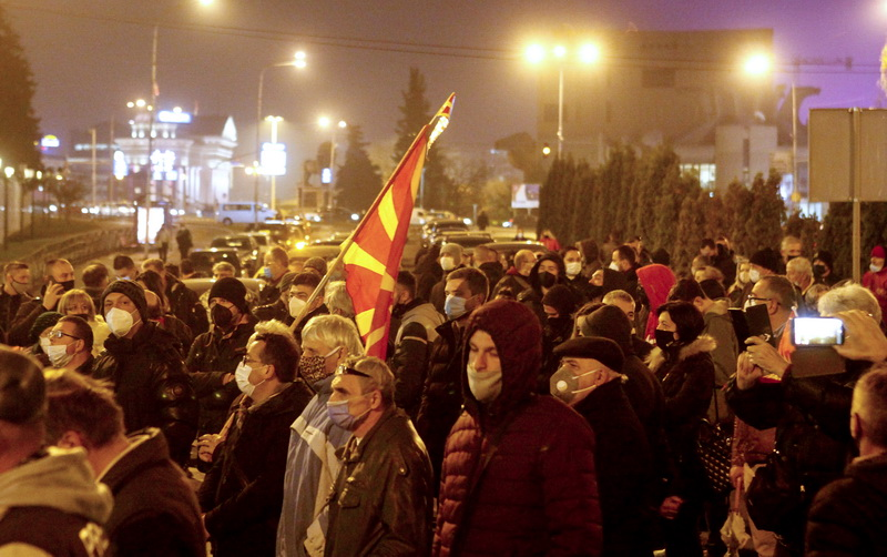 Βόρεια Μακεδονία: Την παραίτηση Zaev ζήτησαν οι διαμαρτυρόμενοι του VMRO-DPMNE