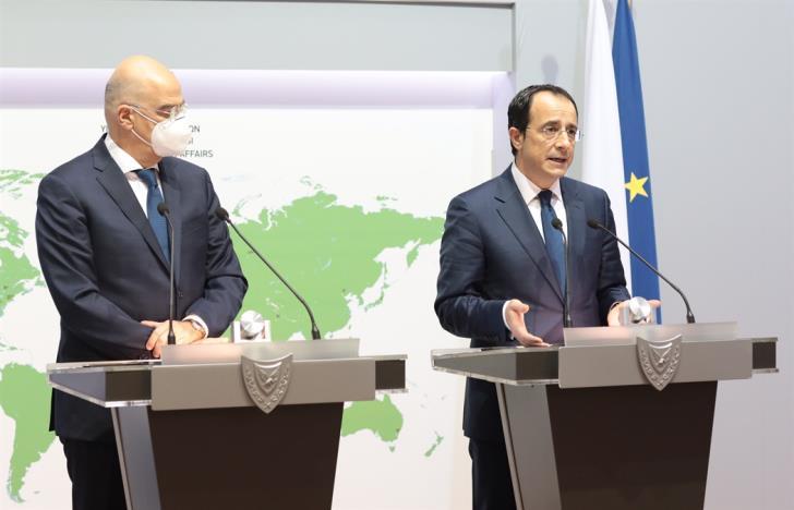 Κύπρος: Συντονισμός Ελλάδας Κύπρου στη συζήτηση Χριστοδουλίδη Δένδια